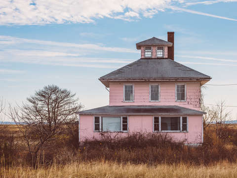 The house on the way to plum island