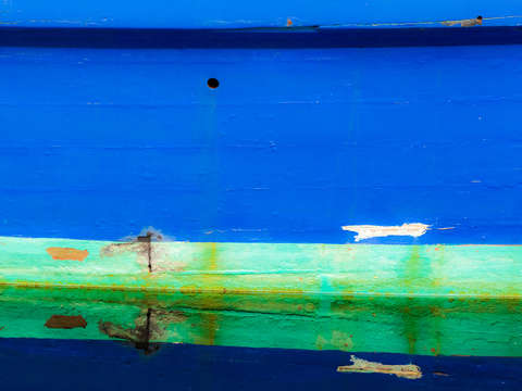 Hull reflections blue 3