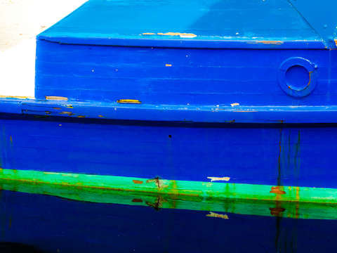 Hull reflections blue 1