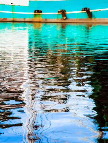 Turquoise reflections 1