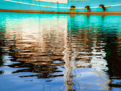 Turquoise reflections 2