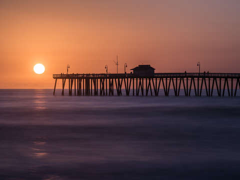 Fishing Pier Sunset