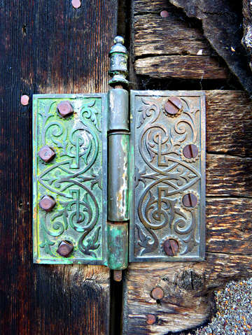 Copper hinge