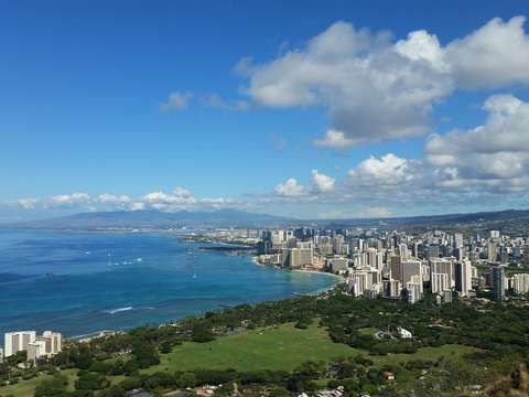 A view from diamond head