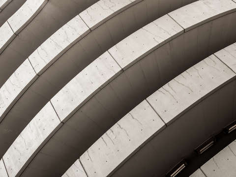 Chicago parking garage abstract ii
