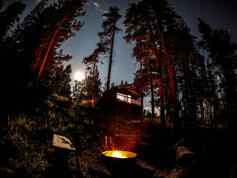 Camping Under The Stars at Red Feather Lakes