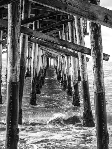 Pier in newport beach