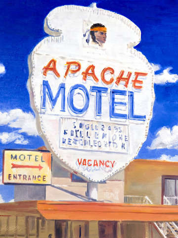 Route 66 apache motel
