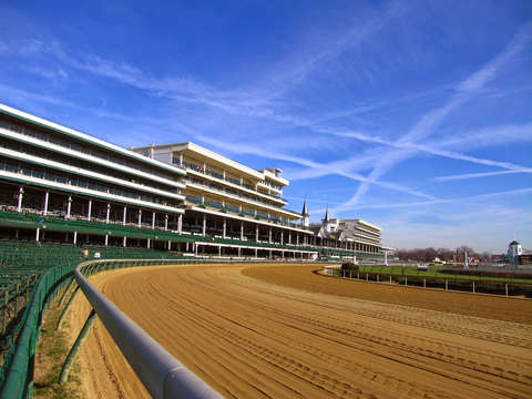 Empty churchill downs