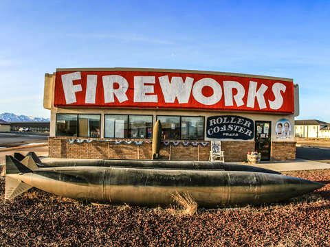 Fireworks store