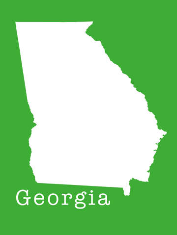 Georgia state outline