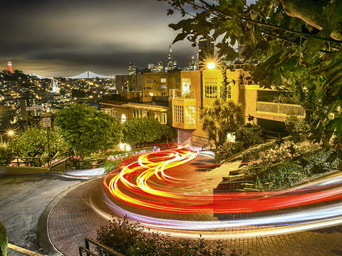 Winding Lombard St