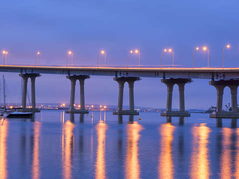 Coronado bridge nights