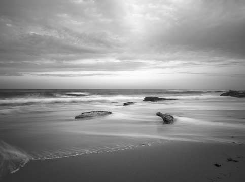 Windansea in monochrome