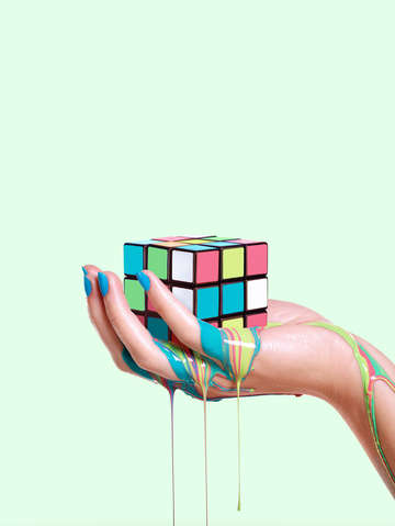 MELTING RUBIK