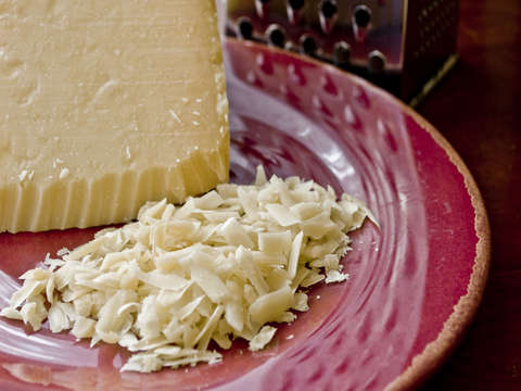 Fresh grated parmesan cheese