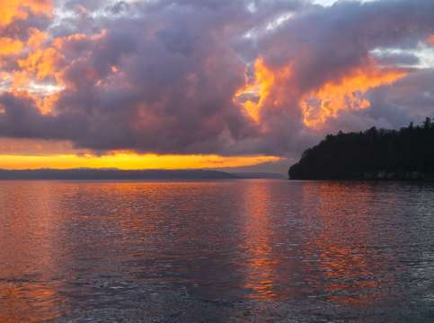 Vashon sunrise