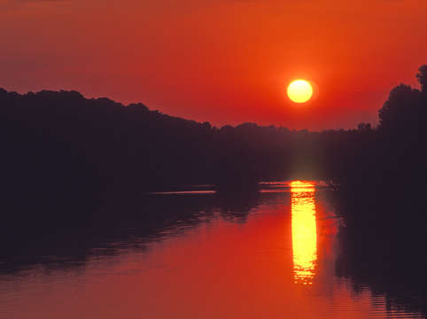 Chattahoochee river sunset 16ae0107