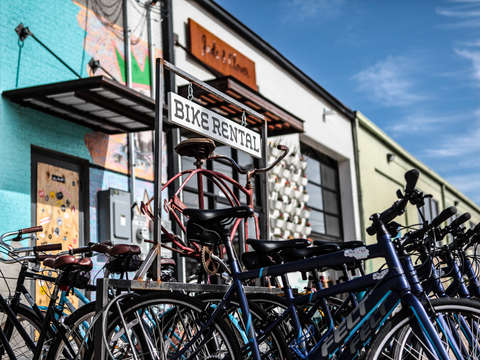 Bike Rental Deep Ellum
