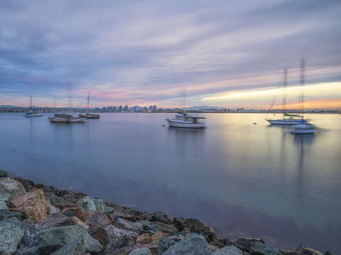San Diego Harbor Morning
