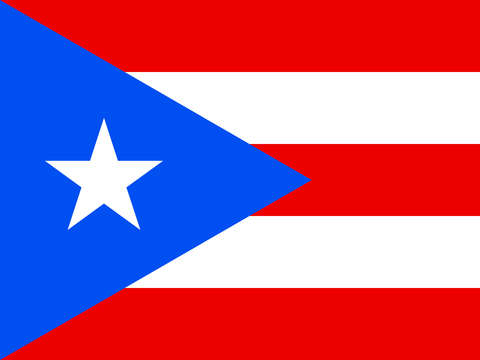 Flag or puerto rico