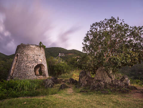 Peace hill ruins