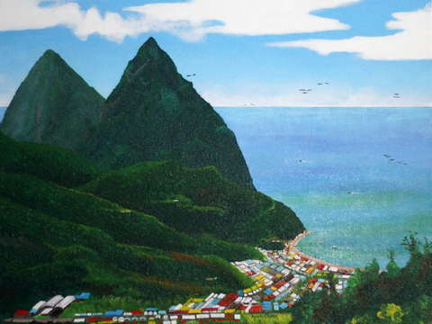 Above soufriere