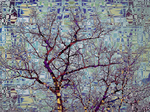 Tree mosaic iv