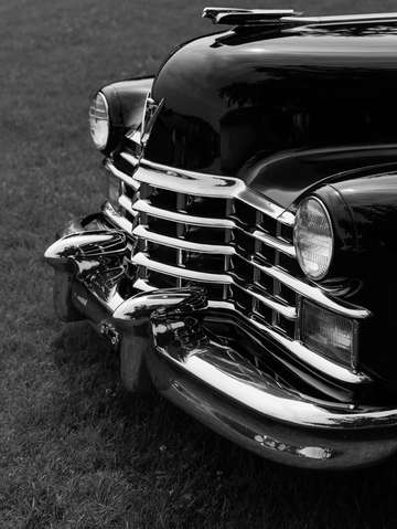 Classic caddy black and white