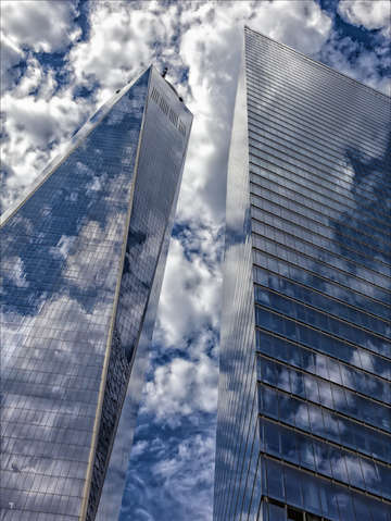 World trade center and office high rise