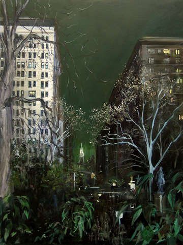 Gramercy park and chrylser building