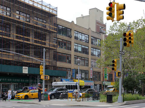 Lower east side intersection