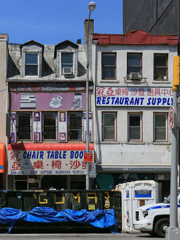 Restaurant supply in the lower east side