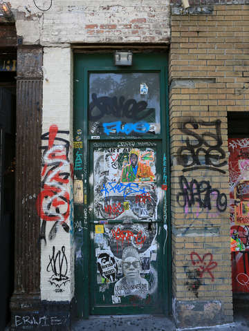 Big door in the lower east side nyc