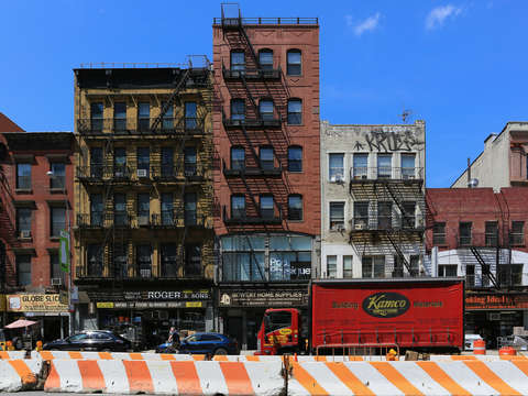 Along the bowery lower east side nyc