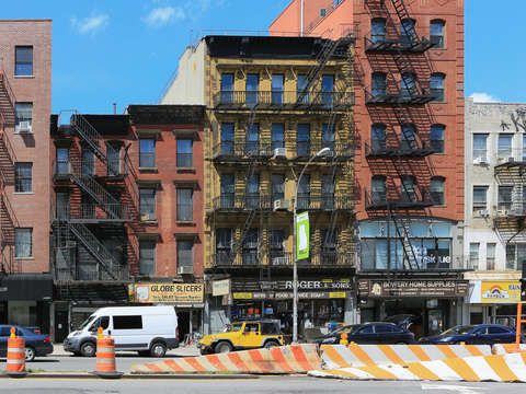 Along the bowery view ii lower east side nyc