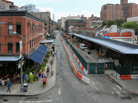 Meatpacking district in chelsea
