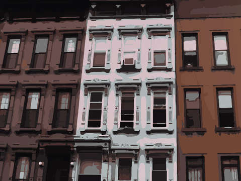 Houses of harlem