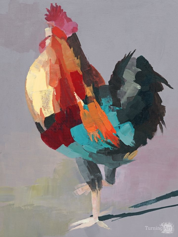 Wild rooster 1