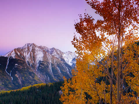 Twilight peak autumn
