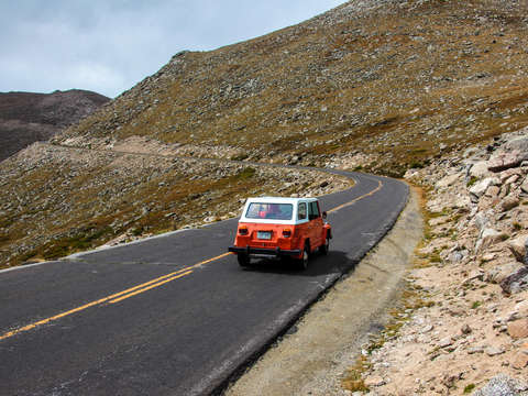 Volkswagen thing on mt evans