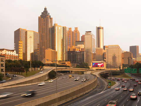 Cityscape of atlanta
