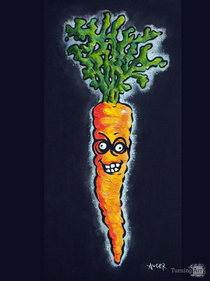 The crazy carrot
