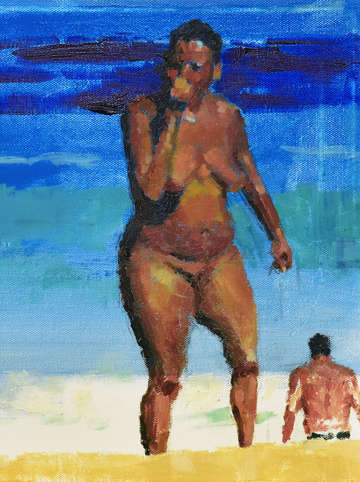 Nude at beach no 3