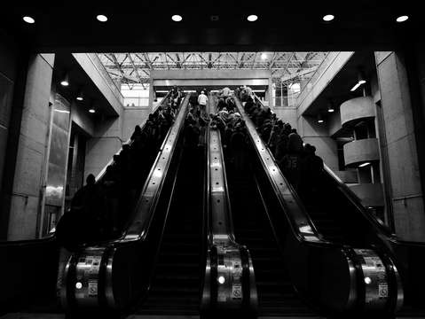 The escalator out