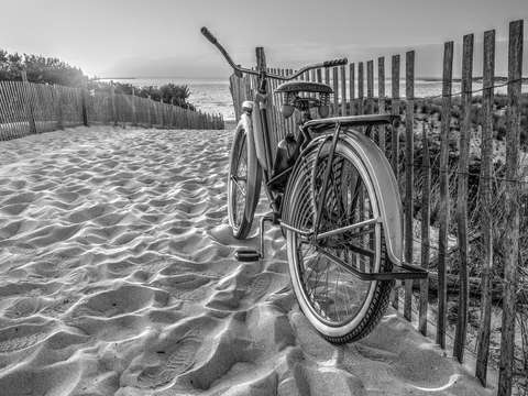 The old bike at the cape