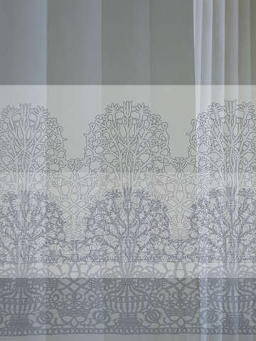 Blue lace and columns 01051