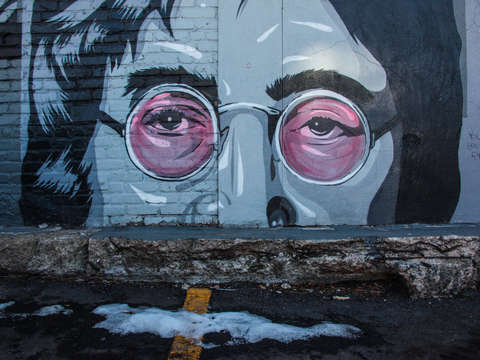John lennon mural in denver