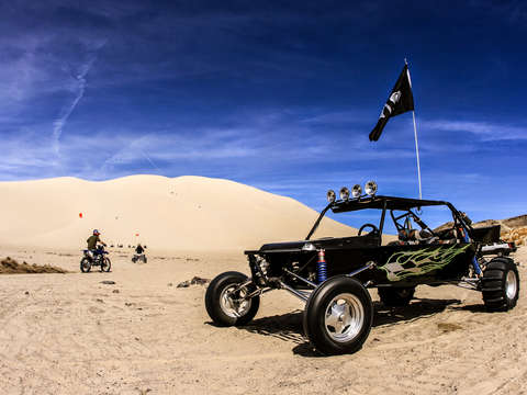 Dune buggy at sand mountain