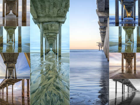 The faces of scripps pier 1
